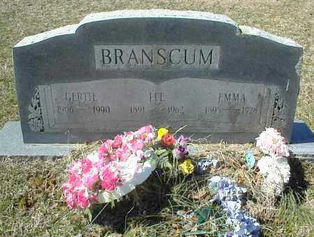BRANSCUM, EMMA - Stone County, Arkansas | EMMA BRANSCUM - Arkansas Gravestone Photos