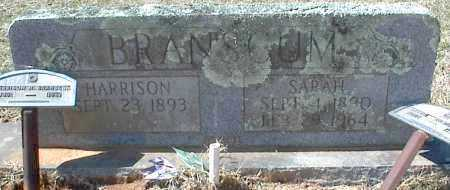 BRANSCUM, HARRISON H. - Stone County, Arkansas | HARRISON H. BRANSCUM - Arkansas Gravestone Photos
