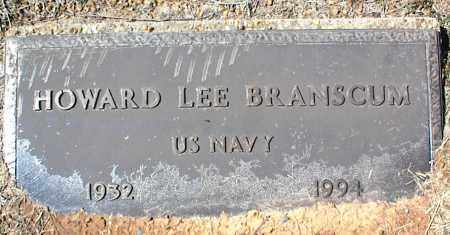 BRANSCUM  (VETERAN), HOWARD LEE - Stone County, Arkansas | HOWARD LEE BRANSCUM  (VETERAN) - Arkansas Gravestone Photos