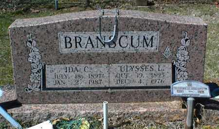 BRANSCUM, ULYSSES L. - Stone County, Arkansas | ULYSSES L. BRANSCUM - Arkansas Gravestone Photos