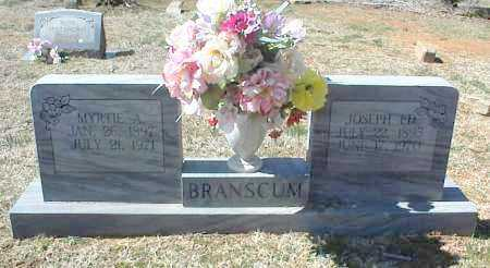 BRANSCUM, JOSEPH ED - Stone County, Arkansas | JOSEPH ED BRANSCUM - Arkansas Gravestone Photos