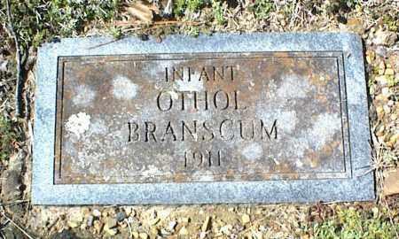 BRANSCUM, OTHOL - Stone County, Arkansas | OTHOL BRANSCUM - Arkansas Gravestone Photos