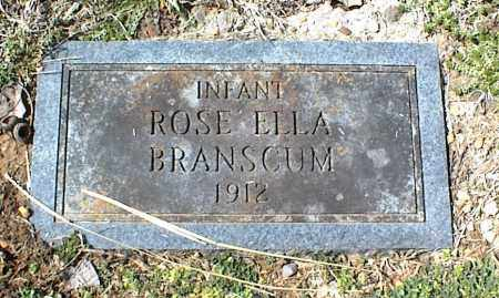 BRANSCUM, ROSE ELLA - Stone County, Arkansas | ROSE ELLA BRANSCUM - Arkansas Gravestone Photos