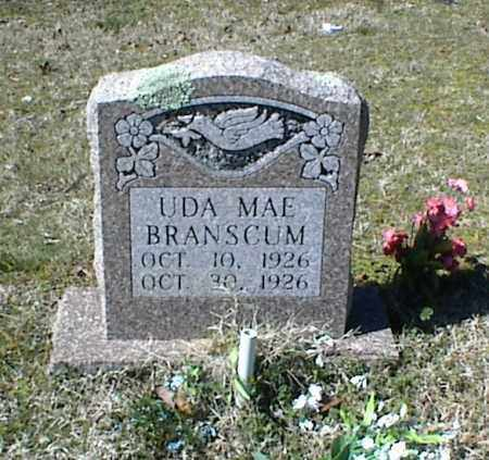 BRANSCUM, UDA MAE - Stone County, Arkansas | UDA MAE BRANSCUM - Arkansas Gravestone Photos