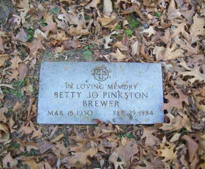 BREWER, BETTY JO - Stone County, Arkansas | BETTY JO BREWER - Arkansas Gravestone Photos