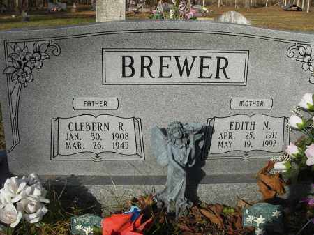 BREWER, EDITH - Stone County, Arkansas | EDITH BREWER - Arkansas Gravestone Photos
