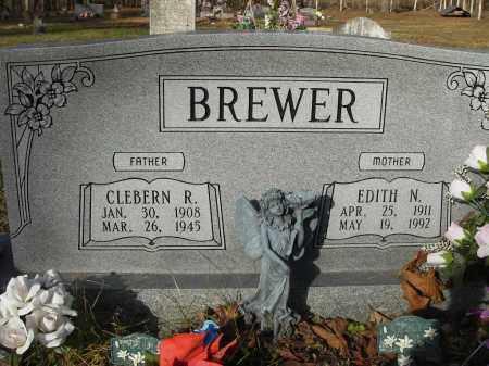 BREWER, CLEBERN - Stone County, Arkansas | CLEBERN BREWER - Arkansas Gravestone Photos