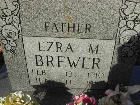 BREWER, EZRA - Stone County, Arkansas | EZRA BREWER - Arkansas Gravestone Photos