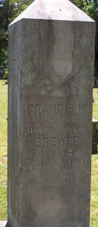 BREWER, FRANCIS M. - Stone County, Arkansas | FRANCIS M. BREWER - Arkansas Gravestone Photos