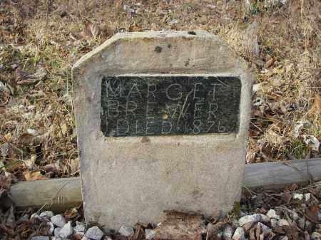 BREWER, MARGARET - Stone County, Arkansas | MARGARET BREWER - Arkansas Gravestone Photos