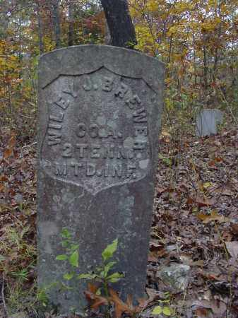 BREWER (VETERAN UNION), WILEY - Stone County, Arkansas   WILEY BREWER (VETERAN UNION) - Arkansas Gravestone Photos