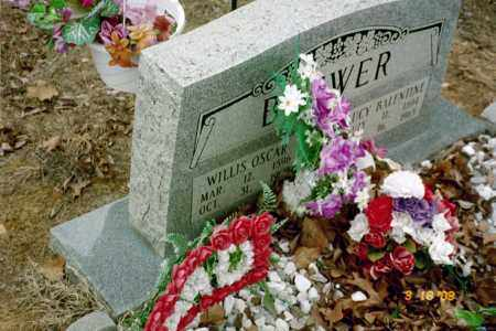 BREWER, WILLIS OSCAR - Stone County, Arkansas | WILLIS OSCAR BREWER - Arkansas Gravestone Photos