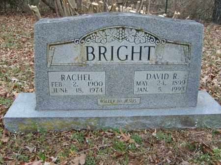 BRIGHT, RACHEL - Stone County, Arkansas | RACHEL BRIGHT - Arkansas Gravestone Photos