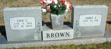 BROWN, FAYE L. - Stone County, Arkansas | FAYE L. BROWN - Arkansas Gravestone Photos