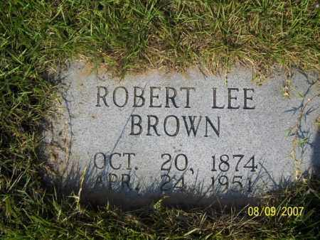 BROWN, ROBERT LEE - Stone County, Arkansas | ROBERT LEE BROWN - Arkansas Gravestone Photos