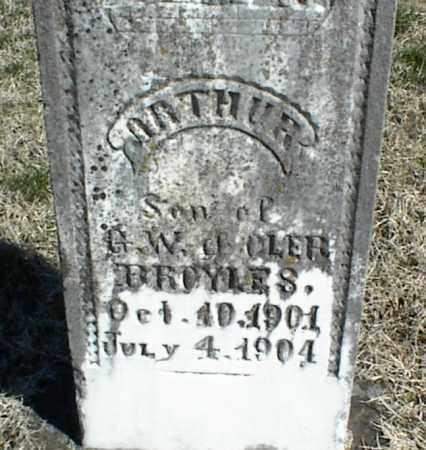 BROYLES, ARTHUR - Stone County, Arkansas | ARTHUR BROYLES - Arkansas Gravestone Photos