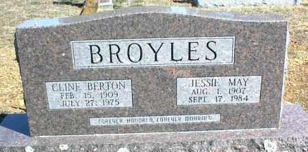 BROYLES, JESSIE MAY - Stone County, Arkansas | JESSIE MAY BROYLES - Arkansas Gravestone Photos