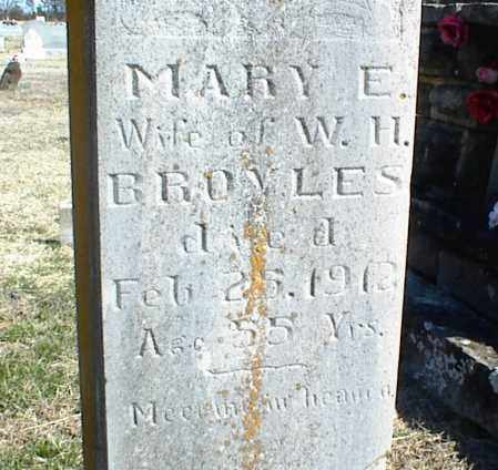 BROYLES, MARY E. - Stone County, Arkansas | MARY E. BROYLES - Arkansas Gravestone Photos