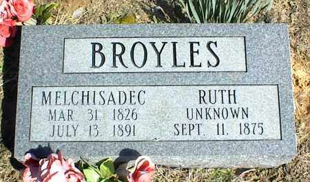 BROYLES, RUTH - Stone County, Arkansas | RUTH BROYLES - Arkansas Gravestone Photos