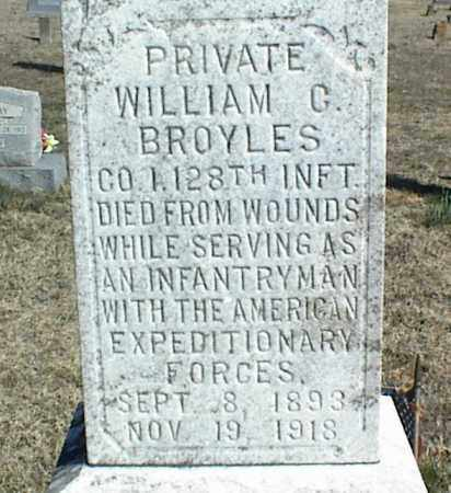 BROYLES (VETERAN), WILLIAM G - Stone County, Arkansas | WILLIAM G BROYLES (VETERAN) - Arkansas Gravestone Photos