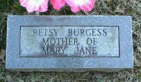 BURGESS, BETSY - Stone County, Arkansas | BETSY BURGESS - Arkansas Gravestone Photos
