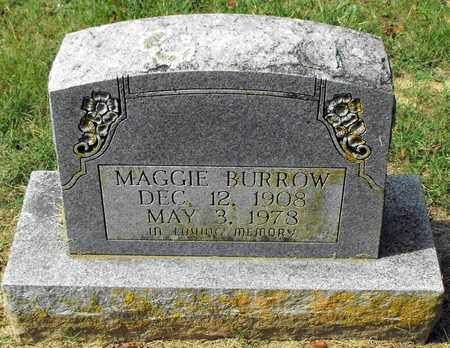 BURROW, MAGGIE - Stone County, Arkansas | MAGGIE BURROW - Arkansas Gravestone Photos