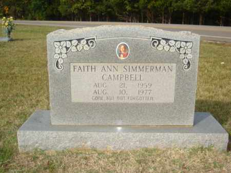CAMPBELL, FAITH ANN - Stone County, Arkansas | FAITH ANN CAMPBELL - Arkansas Gravestone Photos