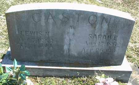 CASTON, LEWIS N. - Stone County, Arkansas | LEWIS N. CASTON - Arkansas Gravestone Photos