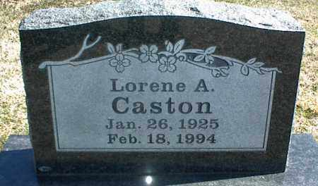 CASTON, LORENE A. - Stone County, Arkansas | LORENE A. CASTON - Arkansas Gravestone Photos