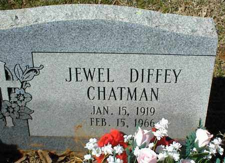 DIFFEY CHATMAN, JEWEL - Stone County, Arkansas | JEWEL DIFFEY CHATMAN - Arkansas Gravestone Photos