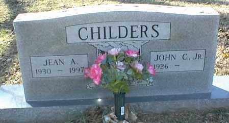 CHILDERS, JEAN A. - Stone County, Arkansas | JEAN A. CHILDERS - Arkansas Gravestone Photos