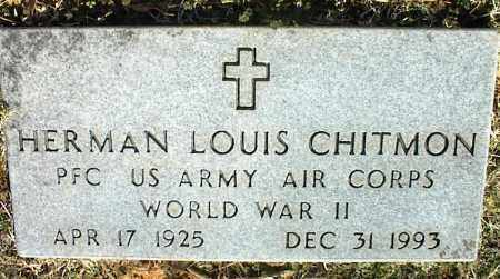 CHITMON (VETERAN WWII), HERMAN LOUIS - Stone County, Arkansas | HERMAN LOUIS CHITMON (VETERAN WWII) - Arkansas Gravestone Photos