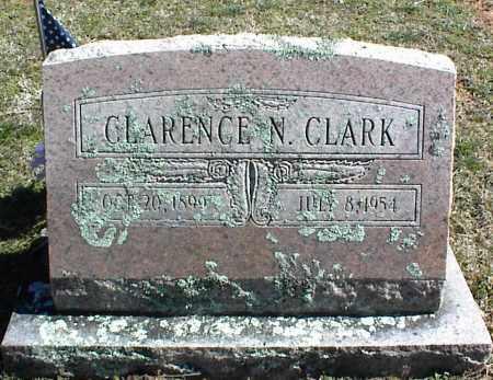 CLARK, CLARENCE N. - Stone County, Arkansas | CLARENCE N. CLARK - Arkansas Gravestone Photos