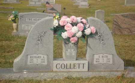 COLLETT, RICHARD A. - Stone County, Arkansas | RICHARD A. COLLETT - Arkansas Gravestone Photos