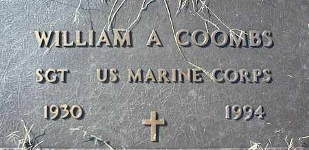 COOMBS (VETERAN), WILLIAM A - Stone County, Arkansas | WILLIAM A COOMBS (VETERAN) - Arkansas Gravestone Photos