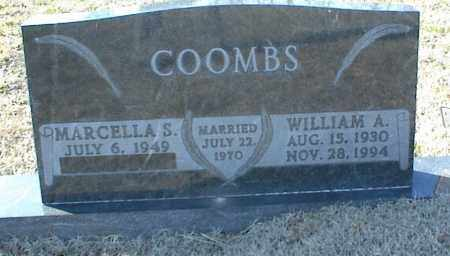 COOMBS, WILLIAM A. - Stone County, Arkansas | WILLIAM A. COOMBS - Arkansas Gravestone Photos