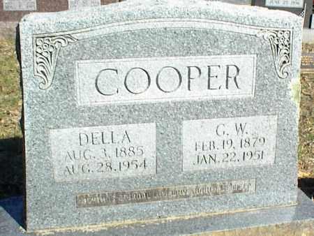 COOPER, G. W. - Stone County, Arkansas | G. W. COOPER - Arkansas Gravestone Photos