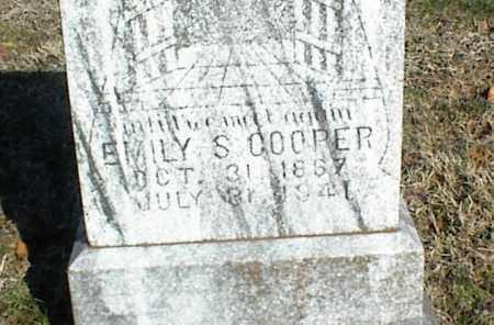 COOPER, EMILY S. - Stone County, Arkansas | EMILY S. COOPER - Arkansas Gravestone Photos
