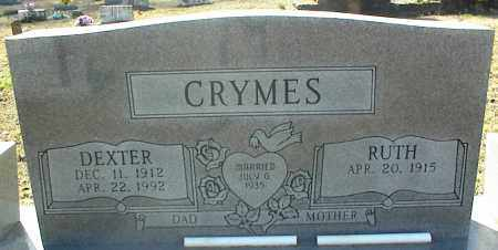 CRYMES, DEXTER - Stone County, Arkansas | DEXTER CRYMES - Arkansas Gravestone Photos