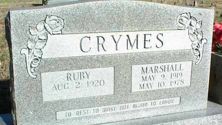 CRYMES, MARSHALL - Stone County, Arkansas | MARSHALL CRYMES - Arkansas Gravestone Photos
