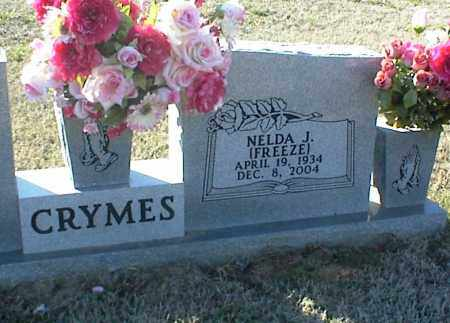 FREEZE CRYMES, NELDA J. - Stone County, Arkansas | NELDA J. FREEZE CRYMES - Arkansas Gravestone Photos