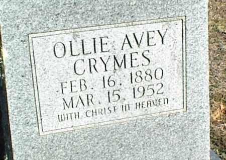 AVEY CRYMES, OLLIE - Stone County, Arkansas | OLLIE AVEY CRYMES - Arkansas Gravestone Photos