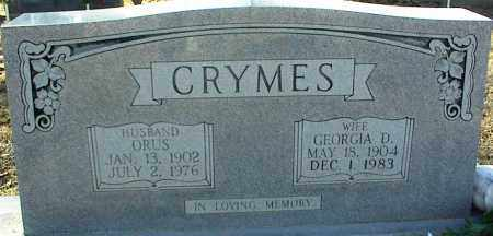 CRYMES, ORUS - Stone County, Arkansas | ORUS CRYMES - Arkansas Gravestone Photos