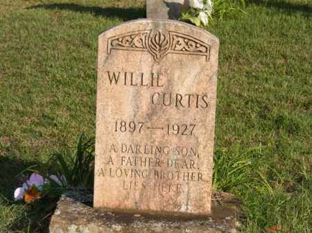 CURTIS, WILLIE - Stone County, Arkansas | WILLIE CURTIS - Arkansas Gravestone Photos