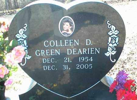 GREEN DEARIEN, COLLEEN D. - Stone County, Arkansas | COLLEEN D. GREEN DEARIEN - Arkansas Gravestone Photos