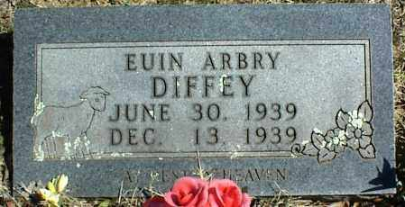 DIFFEY, EUIN ARBRY - Stone County, Arkansas | EUIN ARBRY DIFFEY - Arkansas Gravestone Photos