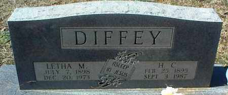 DIFFEY, H. C. - Stone County, Arkansas | H. C. DIFFEY - Arkansas Gravestone Photos