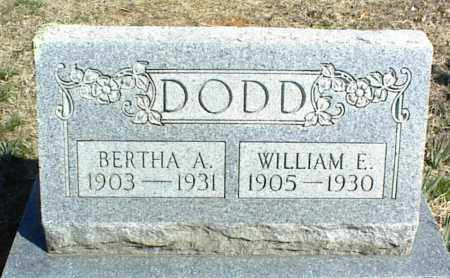 DODD, WILLIAM E. - Stone County, Arkansas | WILLIAM E. DODD - Arkansas Gravestone Photos