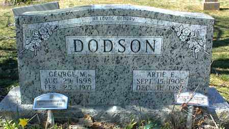 DODSON, GEORGE M. - Stone County, Arkansas | GEORGE M. DODSON - Arkansas Gravestone Photos