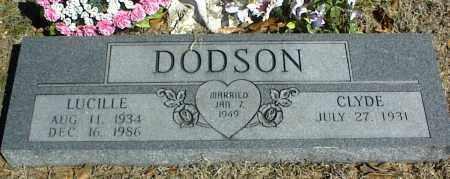 DODSON, LUCILLE - Stone County, Arkansas | LUCILLE DODSON - Arkansas Gravestone Photos
